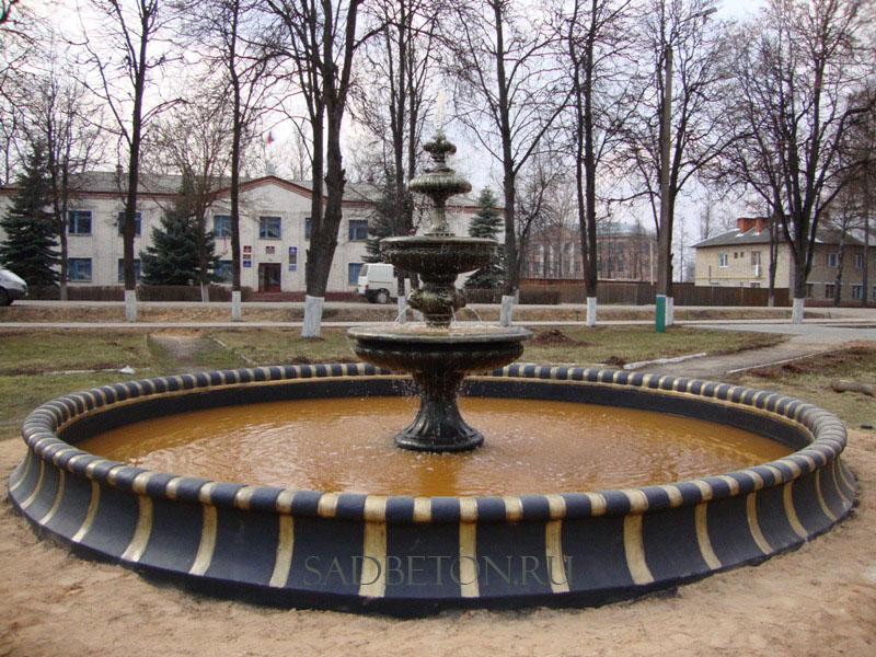 Бетон фонтаны бетон для фундамента в омске купить